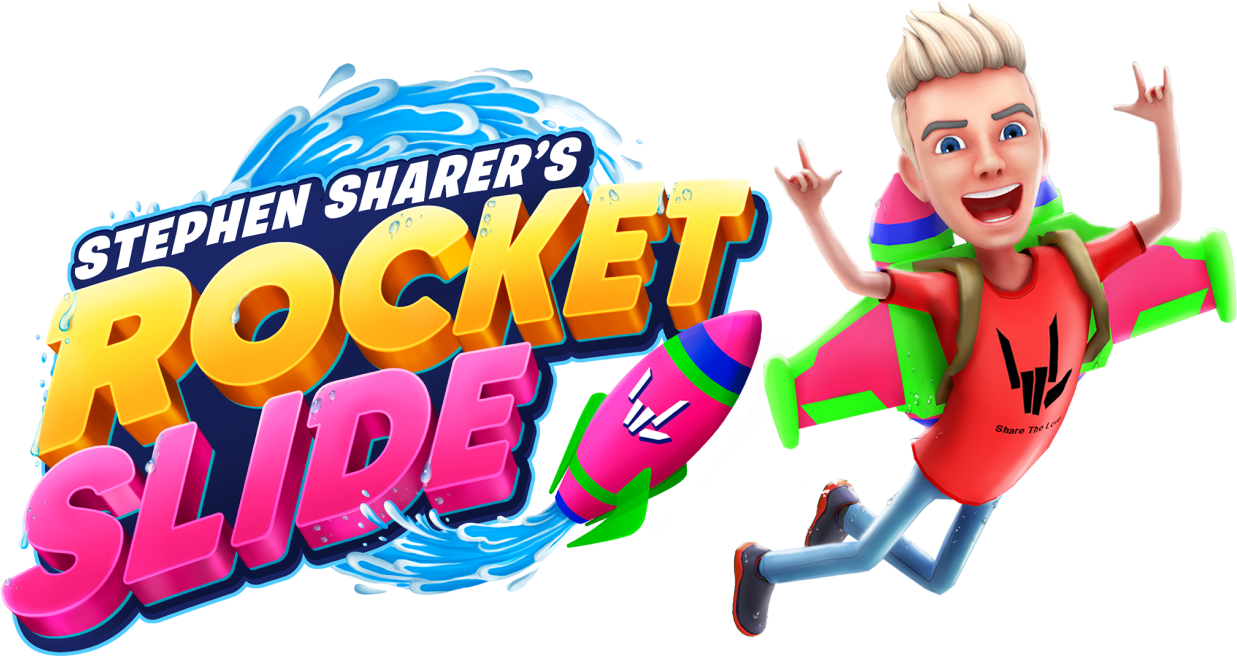 Stephen Sharer's Rocket Slide - available on iOS & Android